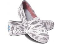 Free Shipping made in china   bobs shoes Grey Ikat Women's Vegan Classics