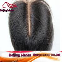 "FREE SHIPPING 100% virgin peruvian hair lace closures 3.5x4""swiss lace closure straight hair"