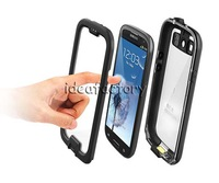 AAA  Waterproof Cases Screenless Clear Case for Galaxy i9300 S3 nuud NUUD DHL 20PCS/LOT