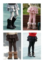 free  shipping 2013 spring and autumn skirt legging trousers boot cut jeans medium-large child trousers 4 - 56789 girl clothes