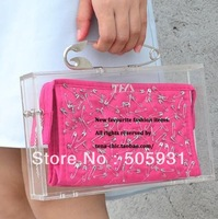 Special Acrylic Transparent Box Clutch Hard Case , Transparent Clutch Bag, Wholesale, Free Shipping