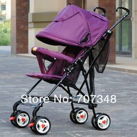 Infant Stroller,Children Pram,Kids Boys and Girl Pushchair,Weigh Only 3.6KG,Lake Blue Color,Purple Color,Pushchair Pram Stroller