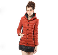 Yalu down coat winter outerwear women's thermal with a hood cap female yn20230