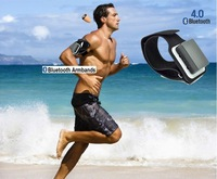 DHL Free Shipping 4 Watt Powerful Top Pro Bluetooth Armband with Earpiece for Students, FBI and Hearding aids