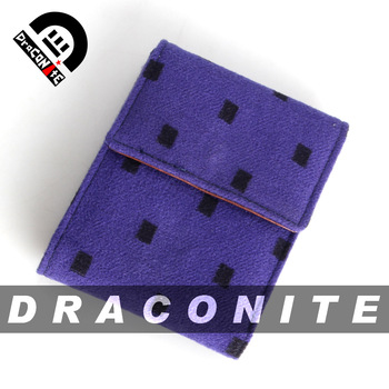 Draconite lovers wallet cube wallet the trend of the wallet q06
