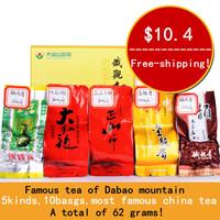 Supernova sale!5 kinds,10bags superfine Tie Guan Yin+Dahongpao+Lapsang souchong+Jinjunmei+Top-quality TieGuanYin.