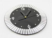 Free shipping High Quality Modern Art Home Decoration Mirror Design Mute Acrylic quartz Wall Clock Retail