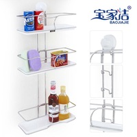 Bathroom wall-mounted storage shelf corner shelf