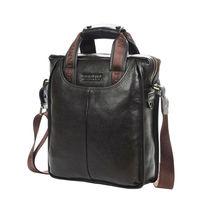 FREE SHIPPING 100% GENUINE LEATHER cowhide Shoulder leisure men's bag business messenger portable briefcase Laptop Casual Purse