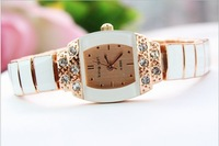 Classic commercial rhinestone ol fashion bracelet watch women's gift table watch