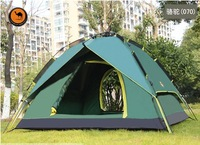 Camel outdoor 3 - 4 automatic tent double layer tent
