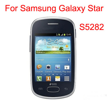 For Samsung Galaxy Star S5282 Anti-Glare matte/clear Screen Protector film guard with Package (100 film+100 cloth)