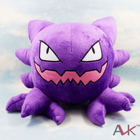 anime figures Haunter Pokemon plush doll stuffed animal toy  Spectrum dolls 30cm Alpollo toys,gift for children kids