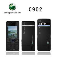 Original Unlocked  Sony Ericsson C902   5MP Camera mobile Phone 3G Bluetooth FM radio  GPS Email MP3   free shipping Refurbished