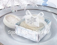 Wedding favor--wedding supplies back gifts Mini snow soap favor  10PCS/LOT