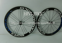 2013 New G3 Geometry Blue Campagnolo Bora ULTRA Two 50mm 700C Clincher carbon bicycle wheelset