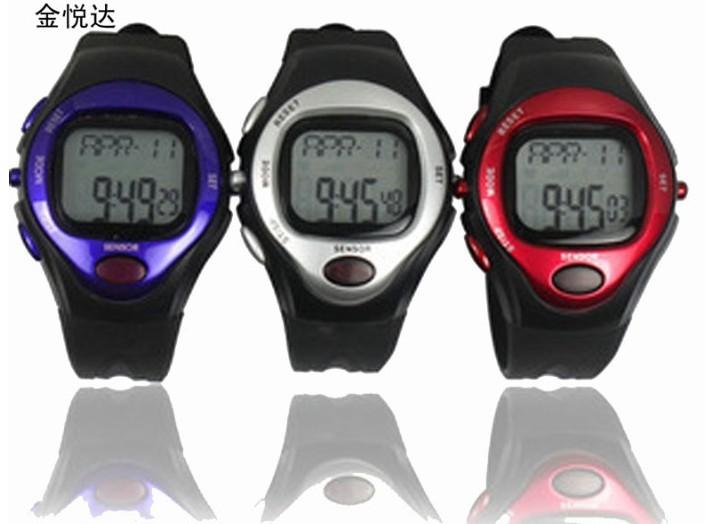 New Brand Design Heartbeat Table Men Women Sports Heart Health Rate Monitor Watch Calendar Alarm Calorie Stopwatch Wrist Watches(China (Mainland))