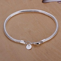 Free shipping 925 sterling silver jewelry bracelet fine fashion bracelet top quality wholesale and retail SMTH159