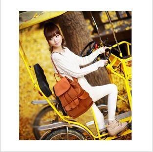 Free shipment Summer women's handbag fashion casual bag fashion bag ultralarge backpack bag student school bag