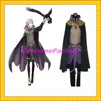 Free Shipping Custom Made Fire Emblem Awakening Anime Cosplay Henry Costume,2kg/pc