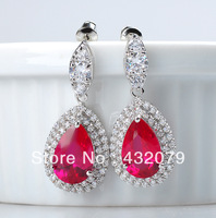Luxury High Quality 18k Gold Plated Drop Earrings Free Shipping!