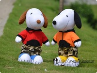 Free shipping Wholesale 45CM Lovely Snoopy Plush Toy Wedding birthday gift pp Cotton 1PCS/lot stuffed toys Plush and Stuffed Toy