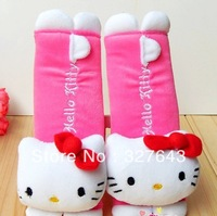 Wholesale Hello Kitty car seat belt shoulder padding 2pcs/pair (the price is for a pair