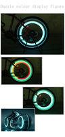 2013 fashion Bicycle LED light sports  bike wheel tire Flash Blue Red White cycling Lamp Motorcycle Free Shipping 6pcs/lot