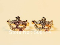 Jewelry wholesale Bohemia mask Diamond Flower mask Ring Jewelry R0004