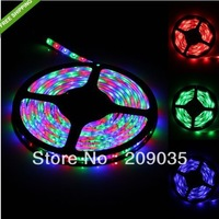 hot Free Shipping rgb 3528 led strip 300LED 5M RGB waterproof led strip