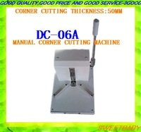 Free shipping fedex /dhl  manual round corner machine /corner cutting machine cutter