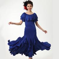 Free shipping modern dance skirt practice short-sleeve expansion skirt