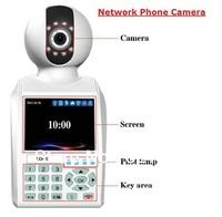 2013 NEW 30W Pixels CMOS eRobot network phone camera