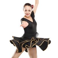 Free shipping Dance  skirts Latin dance skirt front and back v-neck  - 116