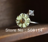 Wholesale Trendsetter retro diamond ring girl Daisy12pcs/lot R0012