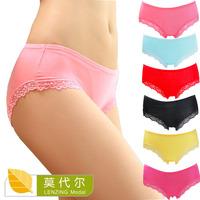 2014 new hot sale women underwear; women's sexy lace panties; high waist modal lingerie; fantasias calcinha & cuecas; briefs