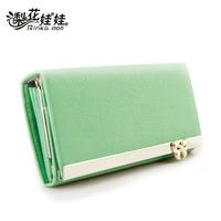 New 2013 Pear doll wallet female bow long design women's wallet free shipping