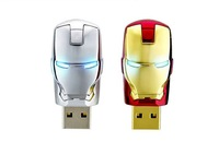 Free shipping new Iron Man Metal U disk 8G