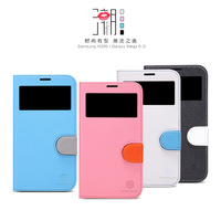 Original NILLKIN Fashion-in Series Leather Case For Samsung Galaxy Mega 6.3 i9200 Free shipping