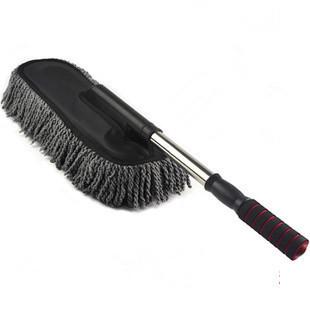 Auto supplies clean cosmetic tools retractable car dust wax drag duster car clean