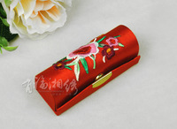 Hunan embroidery lipstick box hunan embroidery hunan embroidery gift