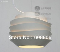 Free Shipping Modern European Simple Style Foscarini Le Soleil Wave White Rose Suspension Pendant Lamp light