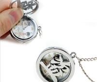 10/pcs chinese style Unique Vintage Unisex Analog Pocket Watch Chain Pendant Necklace quartz watches & relojes free shippping
