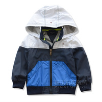 Children's clothing autumn 2013 spring and autumn handsome male baby child jacket outerwear child cardigan with a hood clothes