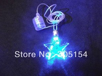Wholesale NOVELTY Flash LED necklace cross ,heart , STAR,butterfly decorations, wedding party, christmas, festival,gift,
