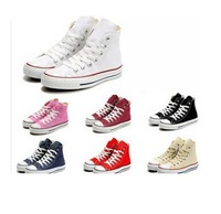 Free Shipping 2013 new unisex fashion brand high and low women and men sneakers and sport canvas shoes size 35-45