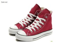 Free Shipping 2013 new unisex fashion brand high and low women and men  canvas shoes size 35-45
