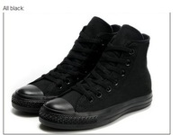 Free Shipping 2013  fashion  high and low women and men sneakers and sport canvas shoes size 35-45