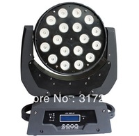 LED Moving Head Light  18pcs 10W 4in1 RGBW DISCO DJ EFFECT in stage light equipment