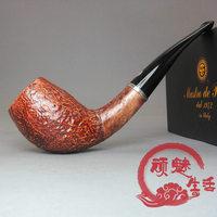 Mastro de paja silver ring handmade wooden smoking pipe 28